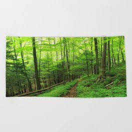 Forest 6 Beach Towel