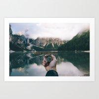 To Adventure Art Print