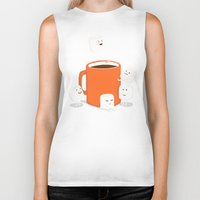 drink Biker Tanks featuring Cannonball by Picomodi