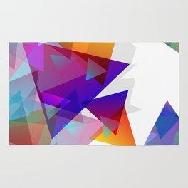 Kaleidoscopic Fragments Rug
