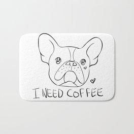 Coffee Pup Bath Mat