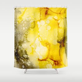 Ink no11 Shower Curtain