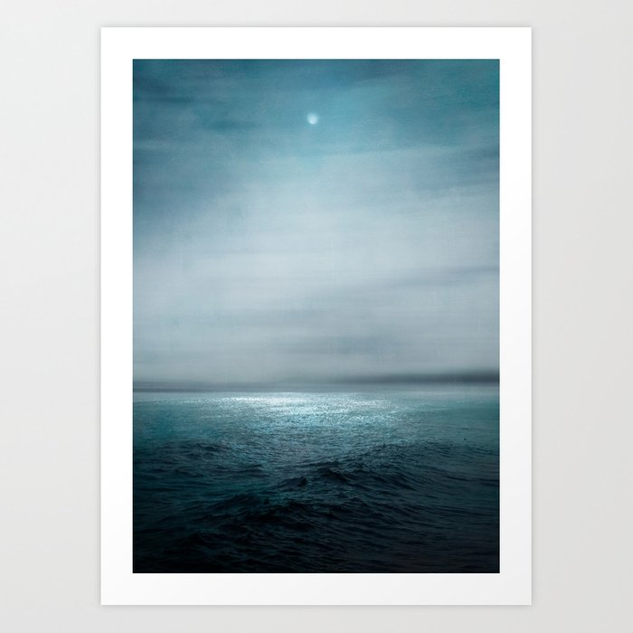 Sea Under Moonlight Kunstdrucke