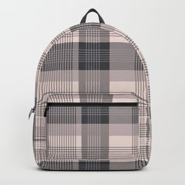 Pink plaid 01 Backpack