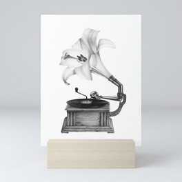 Playful lily Mini Art Print