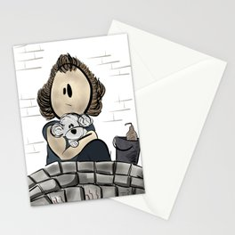 Buffalo Bill & Precious- Silence of the Lambs Design Stationery Cards