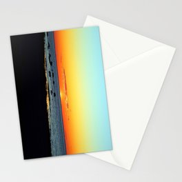 Traditional Seaside Sunset Stationery Cards