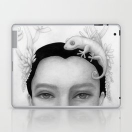 Chameleon Woman Laptop & iPad Skin