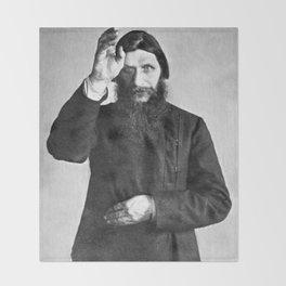 Rasputin The Mad Monk Throw Blanket