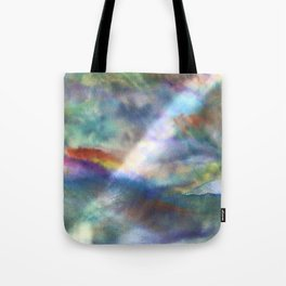 Water and Light Tote Bag