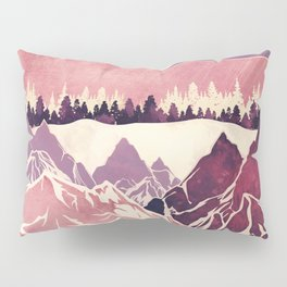 Burgundy Hills Pillow Sham