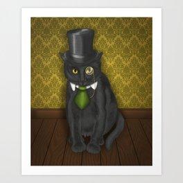 Bow-Legged Gentleman Art Print