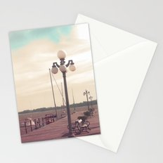 Harbor  (Vintage and Retro Photography)  Stationery Cards