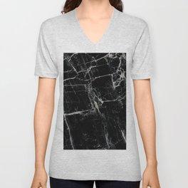 Black Marble Edition 1 Unisex V-Neck