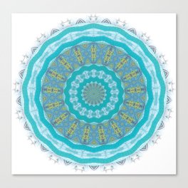 Mind Healing Mandala for Tranquility Canvas Print