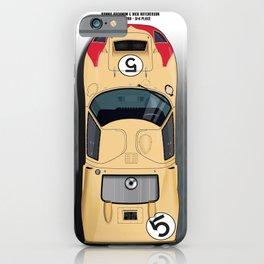 Ronnie Bucknum, Dick Hutcherson GT40, Le Mans 1966 3rd Place iPhone Case