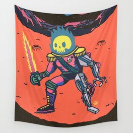 Space Pirate Wall Tapestry