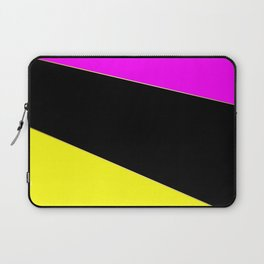 Angelica . Lemon , raspberry , black Laptop Sleeve