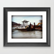 Tugboat Framed Art Print