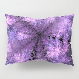 Purple crystals Pillow Sham