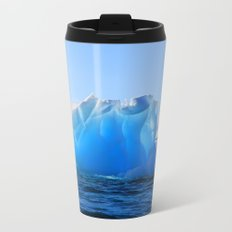 Blue Pole Metal Travel Mug