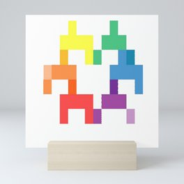 All Your Rainbow Is Mine Mini Art Print