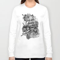 poetry Long Sleeve T-shirts featuring Poetry by Hopler Art