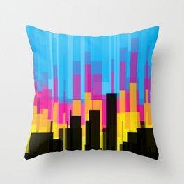 Skyline 10 Throw Pillow