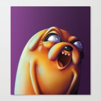 jake Canvas Prints featuring Jake  by Kamory