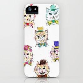 Kitties Galore iPhone Case