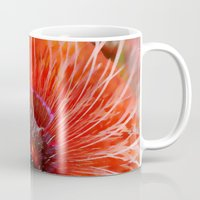poppy Mugs featuring Poppy by Klara Acel