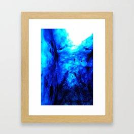 Blobs 5 Framed Art Print