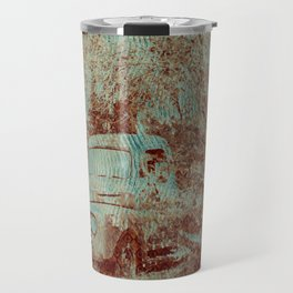 1950 Ford F100- Textured Rust Travel Mug