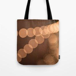 Lights Shine in Night Skies Tote Bag