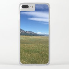 Flatirons Clear iPhone Case