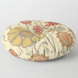 Fall Garden Floor Pillow