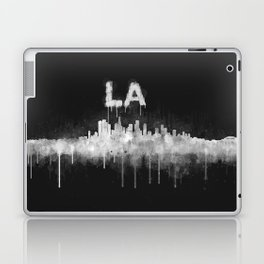 Los Angeles City Skyline HQ v5 WB Laptop & iPad Skin