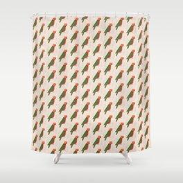 Australian King Parrot   Pattern Shower Curtain