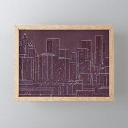 Ghosts Framed Mini Art Print