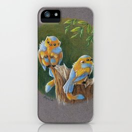 Tiny gryphons iPhone Case