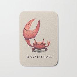 claw goals Bath Mat