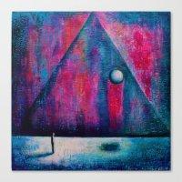 portal Canvas Prints featuring Portal by Sylwia Borkowska