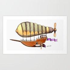 Mother Ship Art Print
