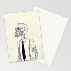 The Gentleman becomes a Hipster  Stationery Cards