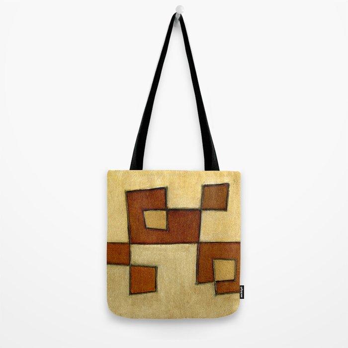 Protoglifo 01 'brown yell' Tote Bag