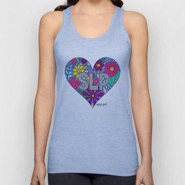 Whimsical Heart SLP Unisex Tank Top