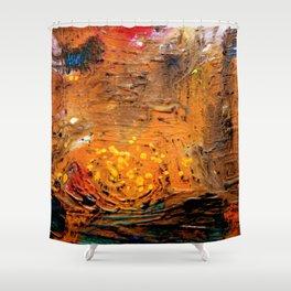 Spatial sea Shower Curtain