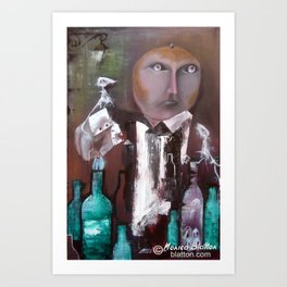 Drowning The Sorrows Art Print