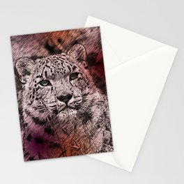 Leopard20151203 Stationery Cards