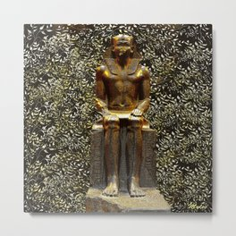 Egypt Antiquities Collection: The Garden of Pharaoh Metal Print